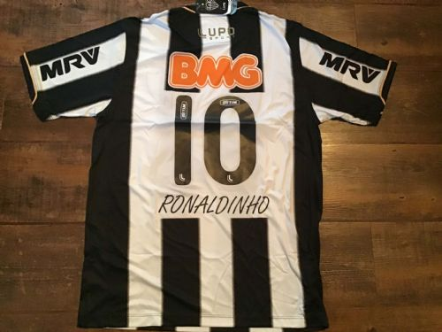 2013 Atletico Mineiro BNWT Ronaldinho Football Shirt Large